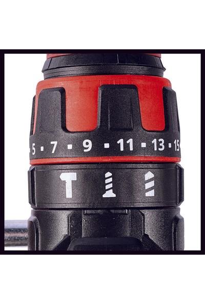 Einhell Te-Cd 18/48 Li-I Darbeli Matkap + 3 Ah Plus Starter Kit