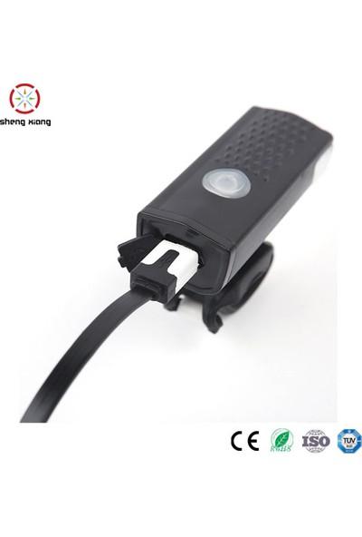 Robesbon USB Şarjlı 3 Modlu 300 Lümen Bisiklet Ön Farı