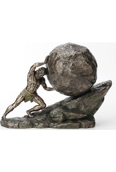 Wıse Sısyphus ( 28.5 x 12 x 20.5 cm )