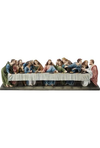 Wıse Son Aksam Yemegı Renklı ( 73 x 18 x 22 cm )