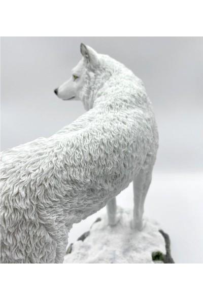 Wıse Beyaz Kurt ( 24 x 15 x 23.5 cm )