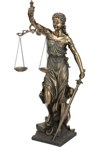 Wıse Adalet Biblo ( 29 x 28 x 75 cm )