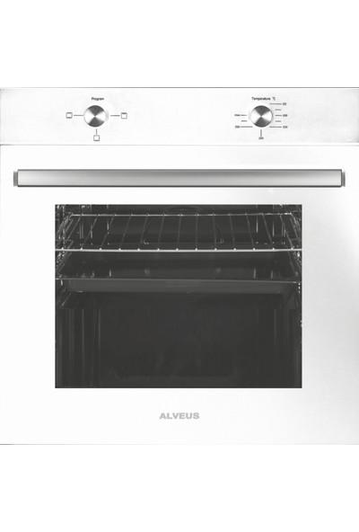 Alveus Mıddle 604 Beyaz 3'lü Ankastre Set(Mfa 604 Fırın+ Gls 640 Ocak + Gusto Davlumbaz )