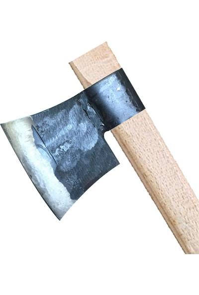 Özkaya Küçük Sakallı Saplı Nacak / Balta 60CM - Dövme Çelikten