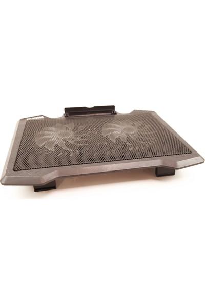 Lineon Notebook Soğutucu Stand Çift Fanlı Ledli S200