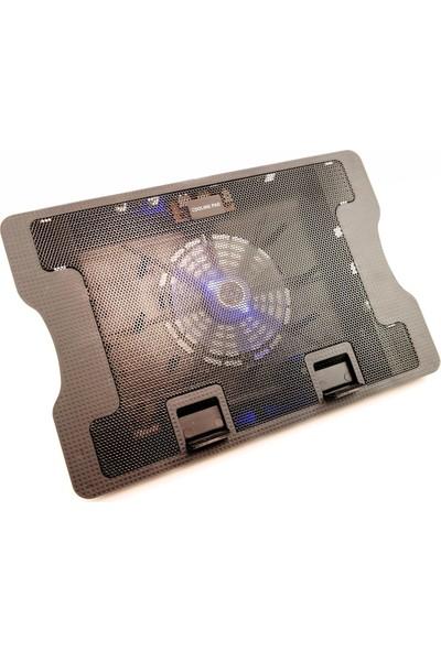 Lineon Notebook Ayarlı Stand ve Soğutucu Ledli Büyük Fanlı - N88