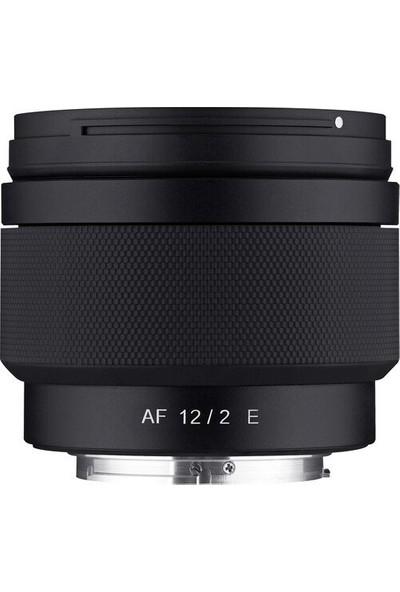 Samyang Af 12MM F/2.0 E Lens (Sony E)