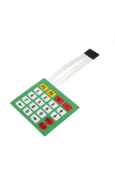 Pololu Arduino Tuş Takımı 4x5 Tuş Takım Mebran Modül Set Keypad