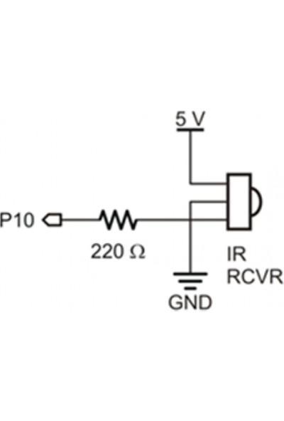 Pololu 1838B Ir Alıcı Kızılötesi Sensör