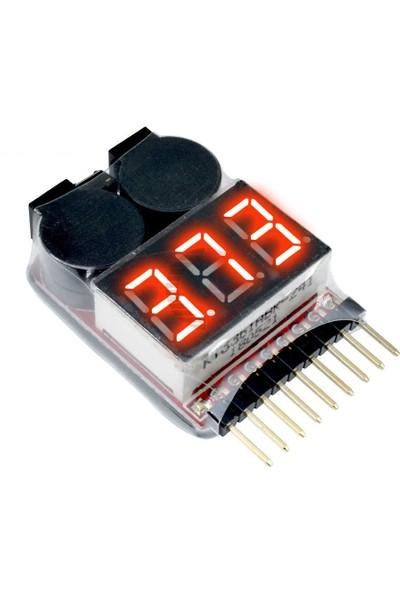 Pololu Lipo Batarya Voltaj Test Cihazı - Buzzerlı 1-8s