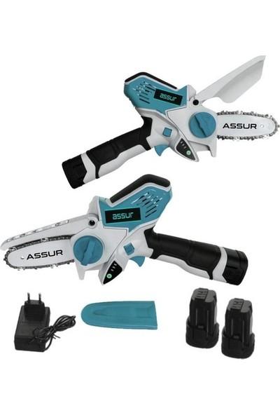 Assur Pro Magic Saw X-Torq 2400 Li-On Akülü Dal Kesme Testere Makinası