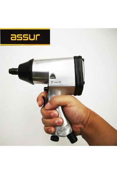 Assur Pro Air Nm 5540 Sjs Metal Şanzuman Havalı Somun Sökme Set 15 Parça