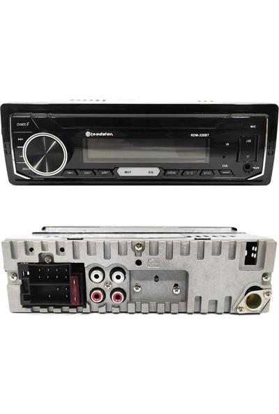 Roadstar Oto Teyp 4X50W Aux/usb/sd/fm Bluetooth Roadstar RDM-320BT Digicom