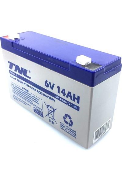 Tnl 6V 14AH Kuru Tip Akü 2020/08.AY Üretim Tarihi 1 Adet