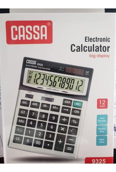 Cassa 9325 Elektronik Hesap Makinesi 12 Hane
