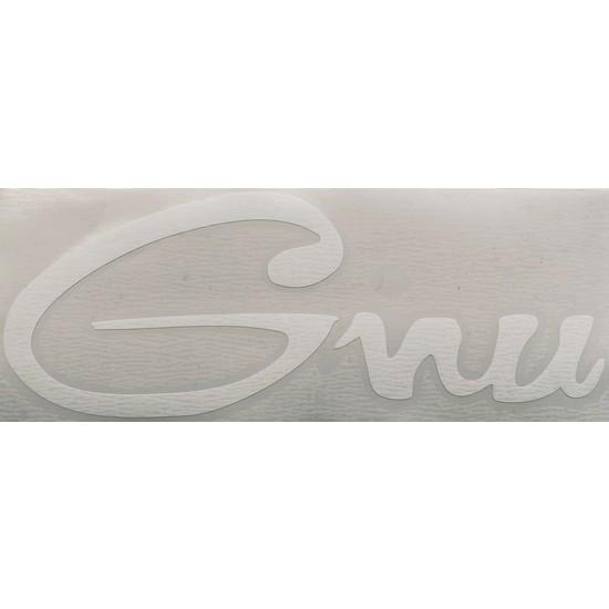 Gnu 20CM x 8cm Taşıyıcı Katmanlı Tek Sticker