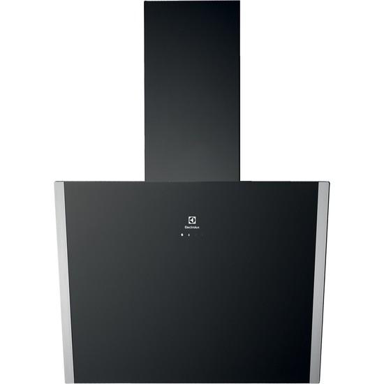 Electrolux EFV60657OK Siyah Duvar Tipi D