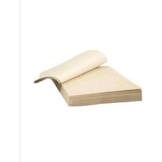 Ambalaj Atölyesi 50x70 cm 200 adet (5 kg) 3.Hamur Ambalaj Kağıdı