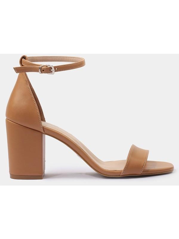 Hotiç 01SAH175140A340 Camel Kadın Sandalet