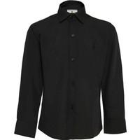 Doctor Junior erkek Çocuk Siyah Gömlek