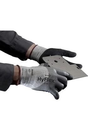 Ansell Hyflex 11-927 Kesilme Dirençli Yağ Tutmaz Iş Eldiveni No:9