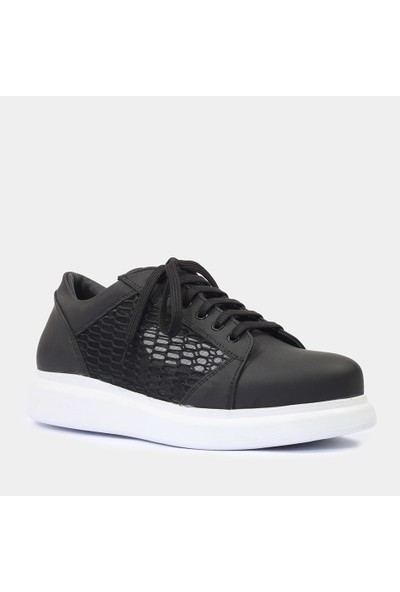 Hotiç 02AYH174370A100 Siyah Erkek Ayakkabı