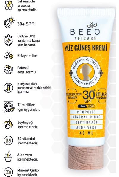 Bee'o Apicare Propolisli Yüz Güneş Kremi 40 ml