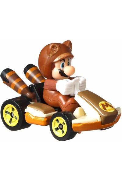Hotwheels Hot Wheels Mario Kart Karakter Araçlar GBG25 - Tanooki Mario - Standard Kart