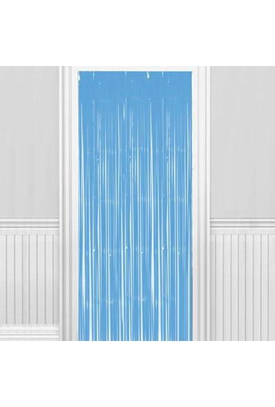 Kapı Duvar Perdesi Gümüş Mat 100*200