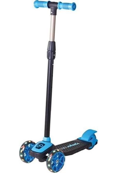 Cool Wheels 3 Yaş Üstü Işıklı Twist Mavi Scooter