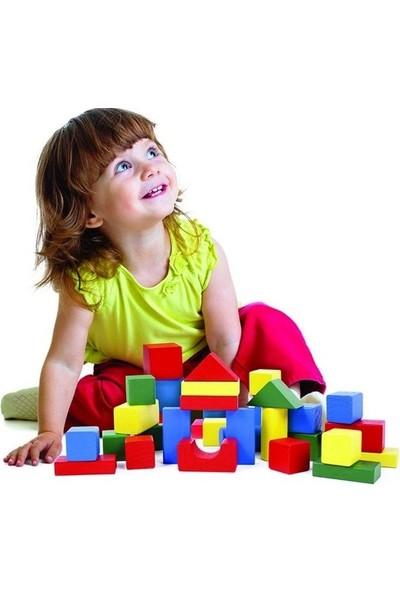 Onyıl Oyuncak Ahşap Bloklar - 60 Parça - Yerli Üretim