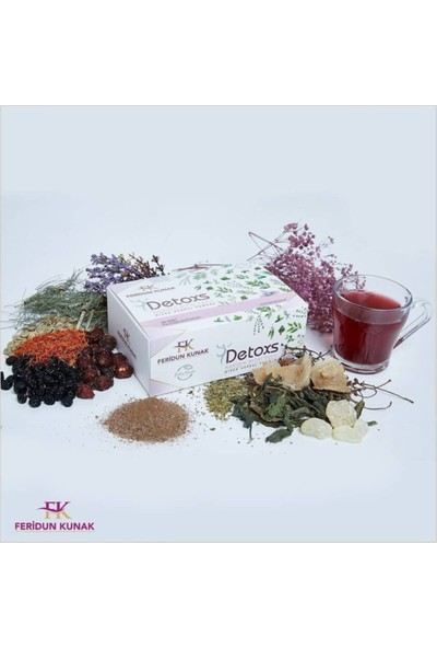 Feridun Kunak Detoks Bitki Çayı 150 gr 5 gr x 30'lu