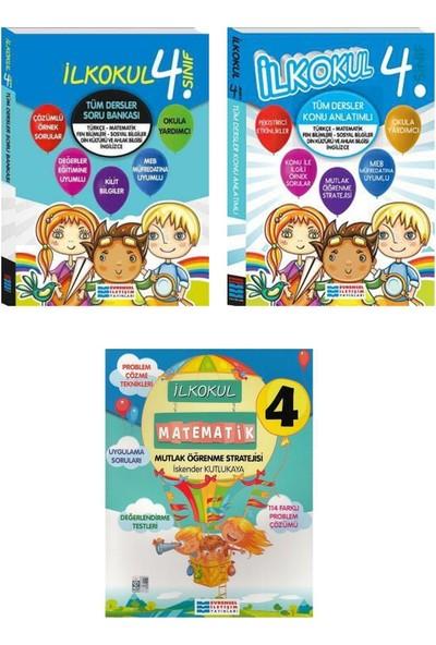 Evrensel Yayınları 4. Sınıf Tüm Dersler Konu Anlatımı Soru Bankası Matematik Öğrenme Seti