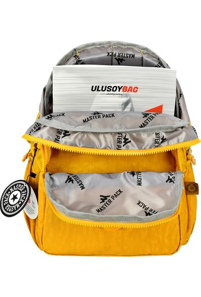 Roxy Unisex Krınkıl Kumaş Su Geçirmez Laptop-4 Bölmeli Çanta 2-U