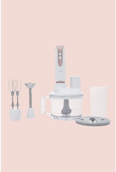 Sunny Viyolin Multı Blender Set - Beyaz