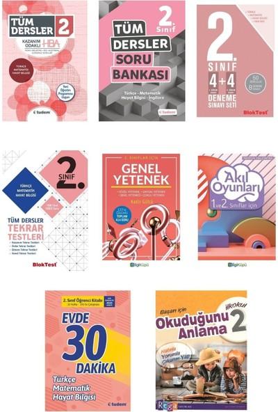 Tudem 2. Sınıf Tüm Dersler Konu Anlatımlı Soru Bankası Full Set