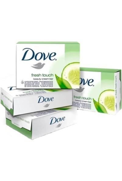 Dove Sabun Fresh Touch Salatalık Özlü 4 x 100 gr