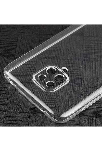 Semers Xiaomi Redmi Note 9 Pro Şeffaf Kamera Korumalı Silikon Kılıf