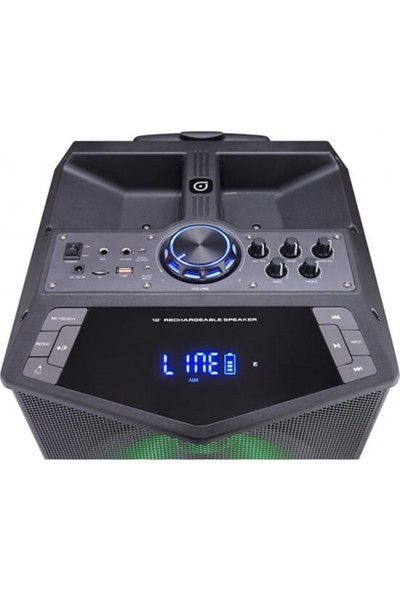 Oyility Dk-12 300 Watt Taşınabilir Mikrofonlu Hoparlöroyility Dk-12 300 Watt Taşınabilir Mikrofonlu Hoparlör