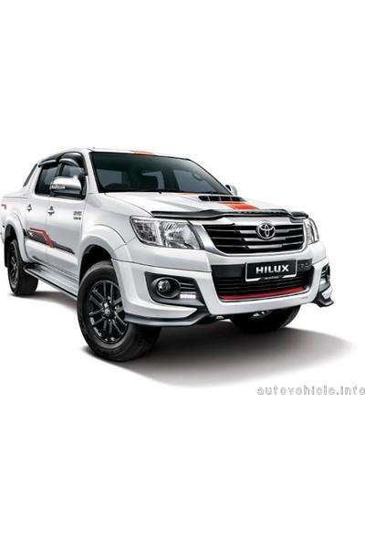 Toyota Hilux (2004-2015) Pick-Up Ara Atkılı Portbagaj - Siyah
