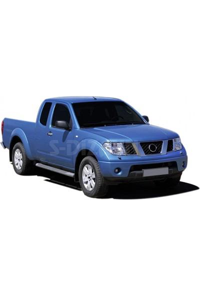 Nissan Navara (2006-2015) Ara Atkısız Tavan Çıtası - Siyah