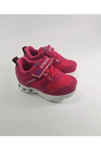 Abay Işıklı Kız Bebek Spor Ayakkabı