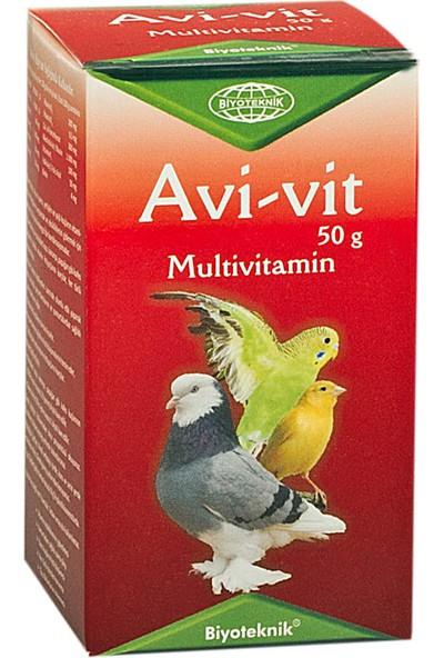 Biyo-Teknik Papağan - Multivitamin Avi-Vit