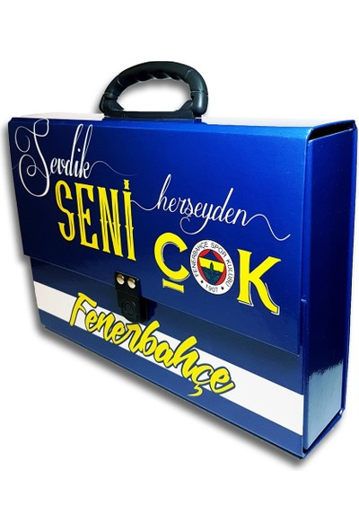 Hakan Çanta Hkn 8660 Fenerbahçe Lisanslı Kutu Klasör Çanta