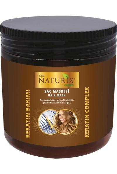 Naturix Yıpranmış Saçlara Keratin Bakım Şampuan 600 ml + 500 ml Keratin Maskesi + 1000 ml Sütlü Duş Jeli