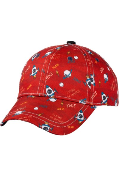 Kitti Erkek Çocuk Desenli Şapka 2.5-6 Yaş