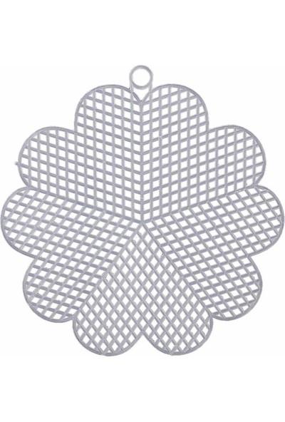 Mir Plastik Plastik Kanvas Çiçek 13 cm