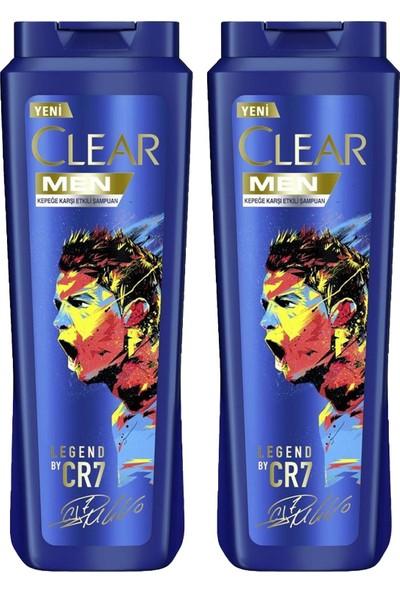 Clear Men Şampuan Ronaldo 600 ml x 2