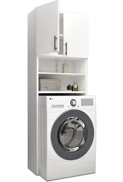 Ebatlandır DECO-1000 Çamaşır Makinesi Üstü Dolap (Kısa)