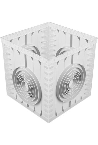 Luxwares 55X55 Kapaksız Plastik Rögar (Menhol) Kutusu